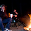 Cigars and coffee around the campfire... doesn't get any better than that!